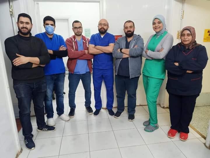الفريق الطبي مستشفى طنطا التعليمي