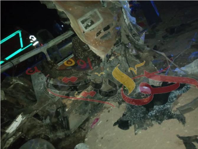 Screenshot 2021 03 06 صور مصرع 18 شخصًا فى حادث تصادم أعلى طريق الكريمات4 - حواديت اون لاين