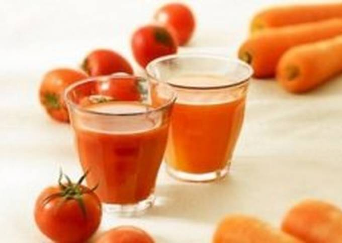 الرئيسية لوصفةطريقة عمل عصير الجزر والطماطم - حواديت اون لاين